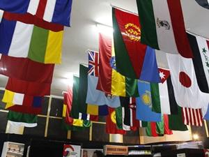 bendera negara peserta delegasi KAA